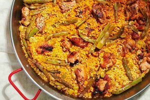 Valencian Paella, the original one but not the most famous